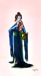 Geisha by Deggiahl