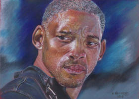 I Am Legend ( Will Smith ) by HendrikHermans