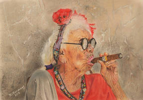 ETHNIC : Cohiba smoker (Cuba) by HendrikHermans