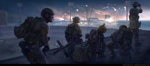 Tom Clancy's Command Authority - Night Eyes by BurenErdene