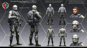 Soldier suit by BurenErdene