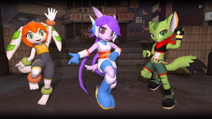 The Main Cast of Freedom Planet 2 [SFM] by TBWinger92