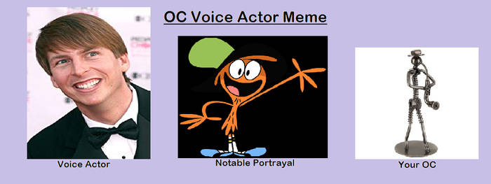 Ronald's voice actor by Loudhouselover981