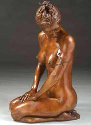 Kneeling Girl - Spectrum 2011 by AndrewSinclair