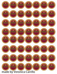sunset sarsaparilla bottle cap template by appleofecstacy on deviantart