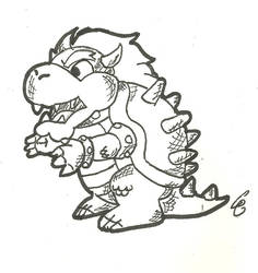 9.2.14 Bowser by CrazedClairebear