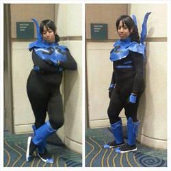 'Jeimi' Reyes - Blue Beetle (Genderbent) by CrazedClairebear