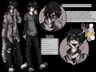 Sloth Fan Creepypasta OC by Sk011