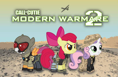 Call Of Cutie: MW2 by Smashinator