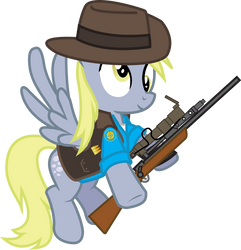 Derpy- Sniper by Smashinator
