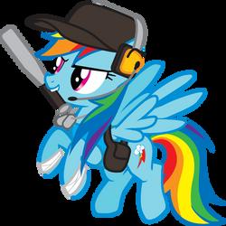 Rainbow Dash- Scout by Smashinator