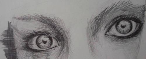 The eyes of a stranger... by Jajchk