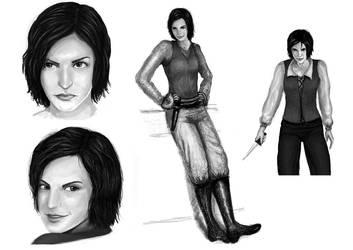 Asha Greyjoy by jekaa