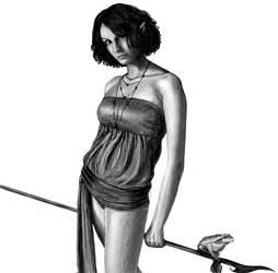 Druid girl by jekaa