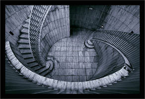 Stairs at La Defense Part I by wild-vortex