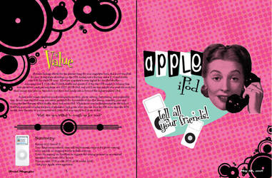ipod magazine _ spread 3 by xshepaintstheskyx