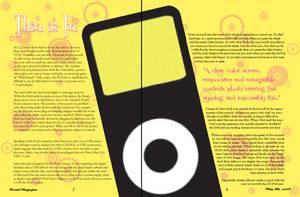ipod magazine _ spread 2 by xshepaintstheskyx