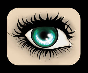 eyeball by xshepaintstheskyx