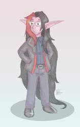 .:Devin -Sketch Commission-:. by veri119