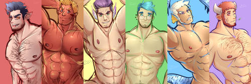 Choose Your Hunk by snolbingers