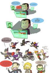 Batfam, ASSEMBLE! by ComickerGirl