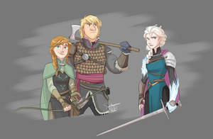 Frozen Knights by ComickerGirl