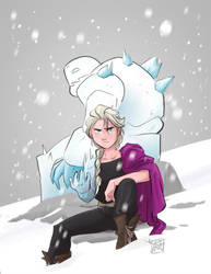 Frozen Alchemist by ComickerGirl