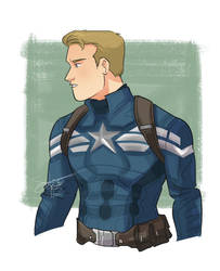 Captain Rogers by ComickerGirl