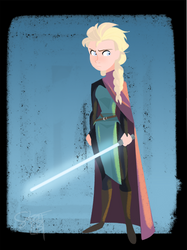 May the Frost be With You - Elsa by ComickerGirl