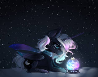 Winter and Luna by NutellaAkaNutella