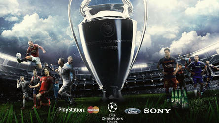UEFA Champions League 2015/16 Wallpaper ft. WDANDM by RakaGFX