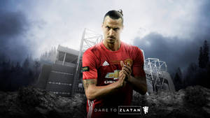 Zlatan Ibrahimovic 2016/17 Wallpaper by RakaGFX
