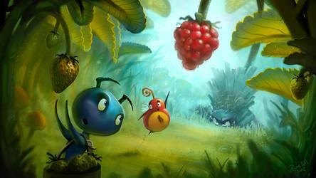 Raspberry Angler by MaansRune
