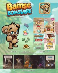 BamseBomstaek Case by MaansRune