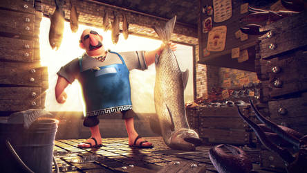 Greek Fishmonger 2014 by MaansRune