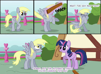 This was what happened with Derpy by VanylFlutterShore