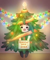 Christmas Tree by WareWare-san