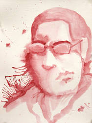 Self-Portrait Red by odnoderra