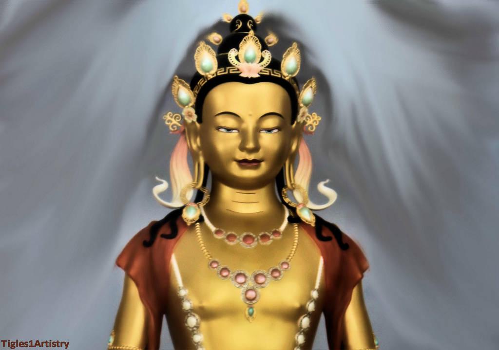 Kadampa Buddhism by Tigles1Artistry