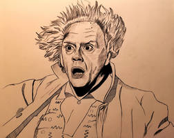 Great Scott! Doc Brown by cfischer83