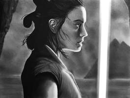 Rey ~ Star Wars The Last Jedi by cfischer83