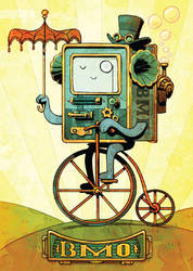 steampunk bmo by BrianKesinger
