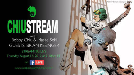 Live interview!  by BrianKesinger