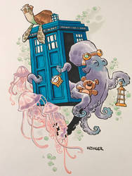 Tardis by the sea by BrianKesinger