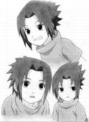 Young Sasuke. by ErinEhmazing