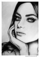Mila Kunis by Moonbrethia
