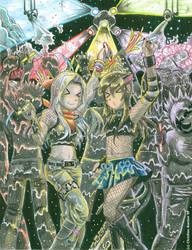 At the rave by Kurigaru