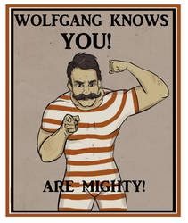 Wolfgang Believes in You! by ace-murdock