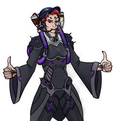 Moira - Commission by ace-murdock