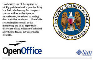 NSA Open Office Splash Screen by lalitpatanpur